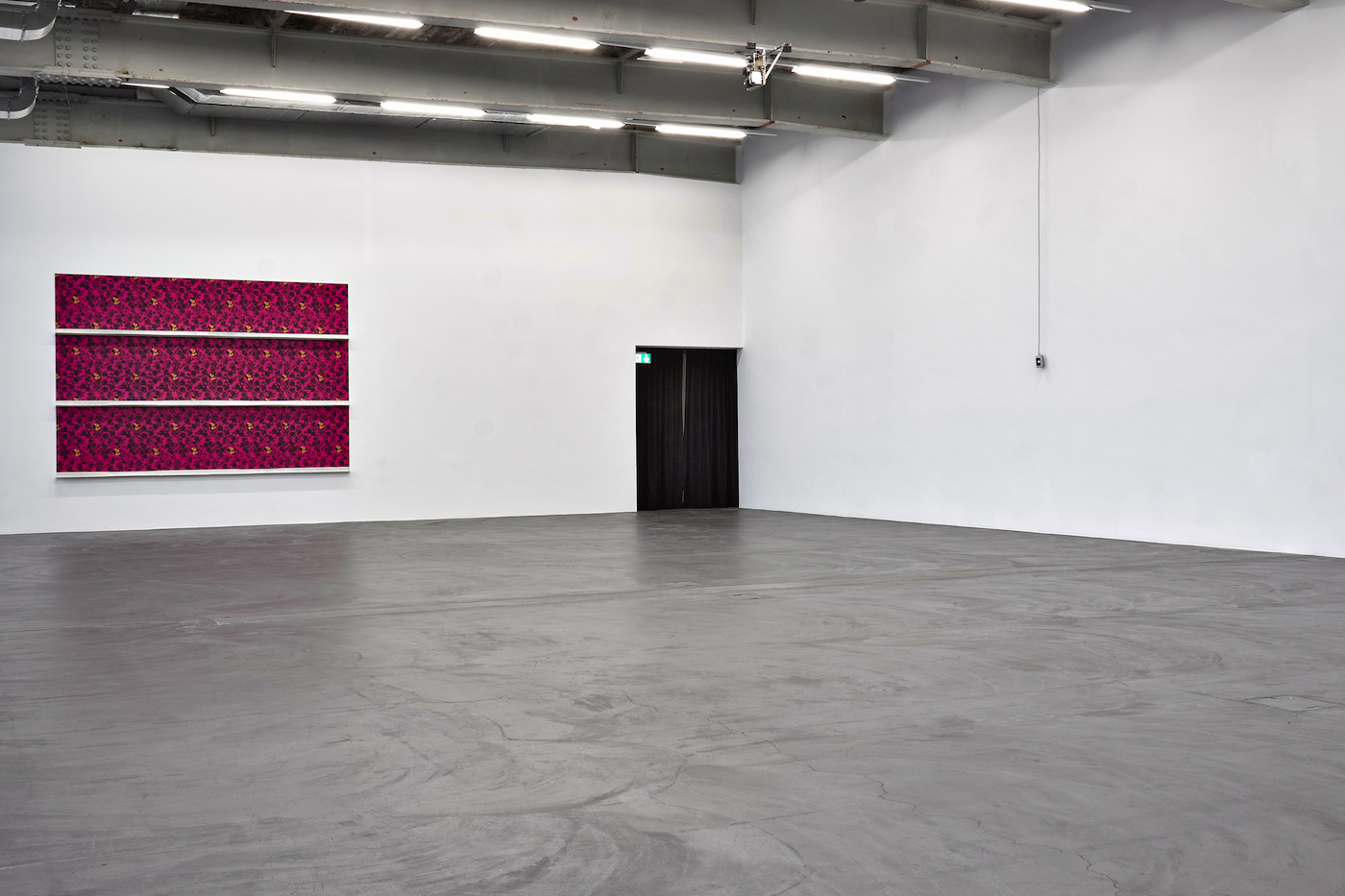 Sam Porritt group show at Kunsthalle Zürich, CH