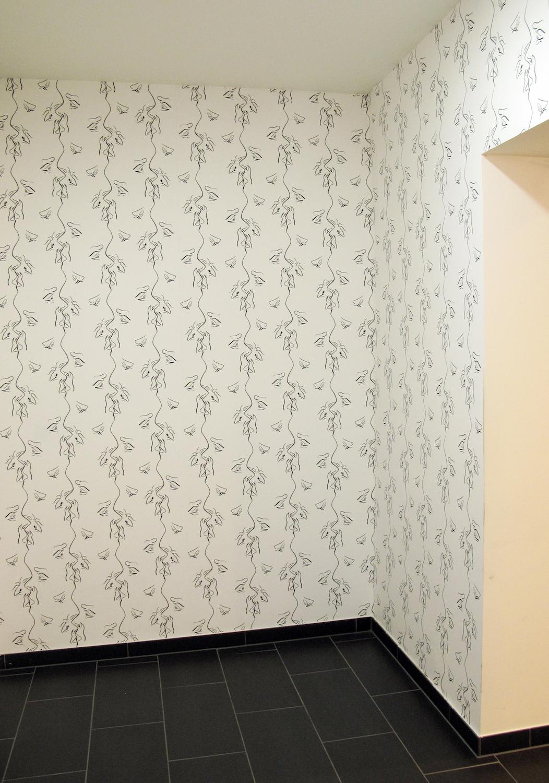 Sam Porritt, My Mind Made Me Do It (Again and Again), 2013. Installation view. SALTS, Basel, CH.