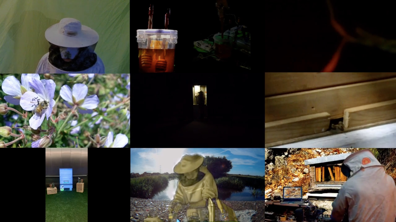 bkeeper1 aka Bioni Samp, ZOO-M-EARTH (video still), 2020. Single channel video. 00:20:00.
