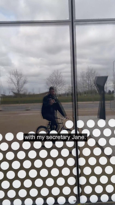 Ralph Pritchard, probably enough (video still), 2020. Single channel video. 00:01:31.