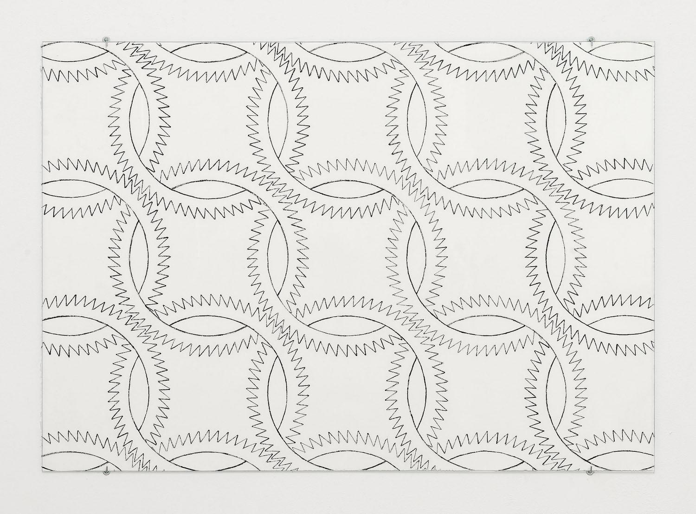 Sam Porritt, Going Nowhere I, 2016. Brush and ink on paper. 100 x 70 cm.