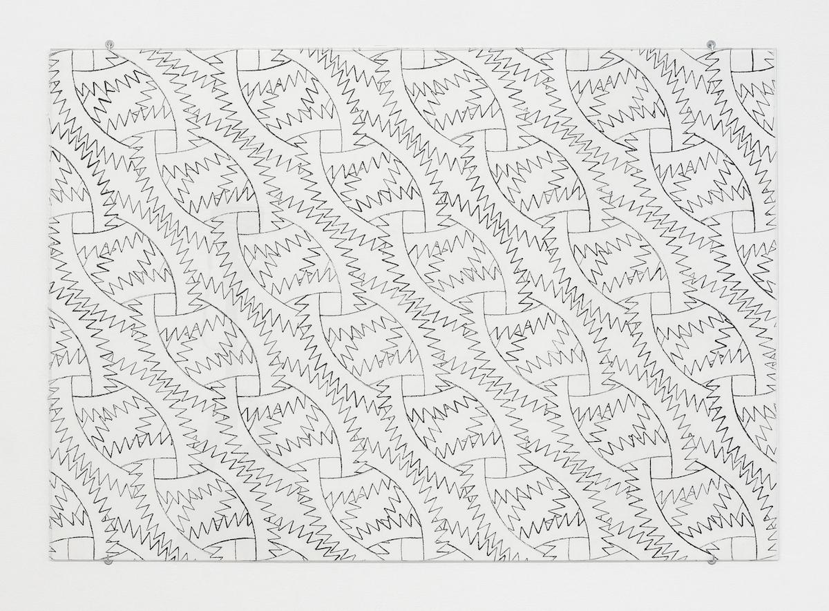 Sam Porritt, Going Nowhere III, 2016. Brush and ink on paper. 100 x 70 cm.