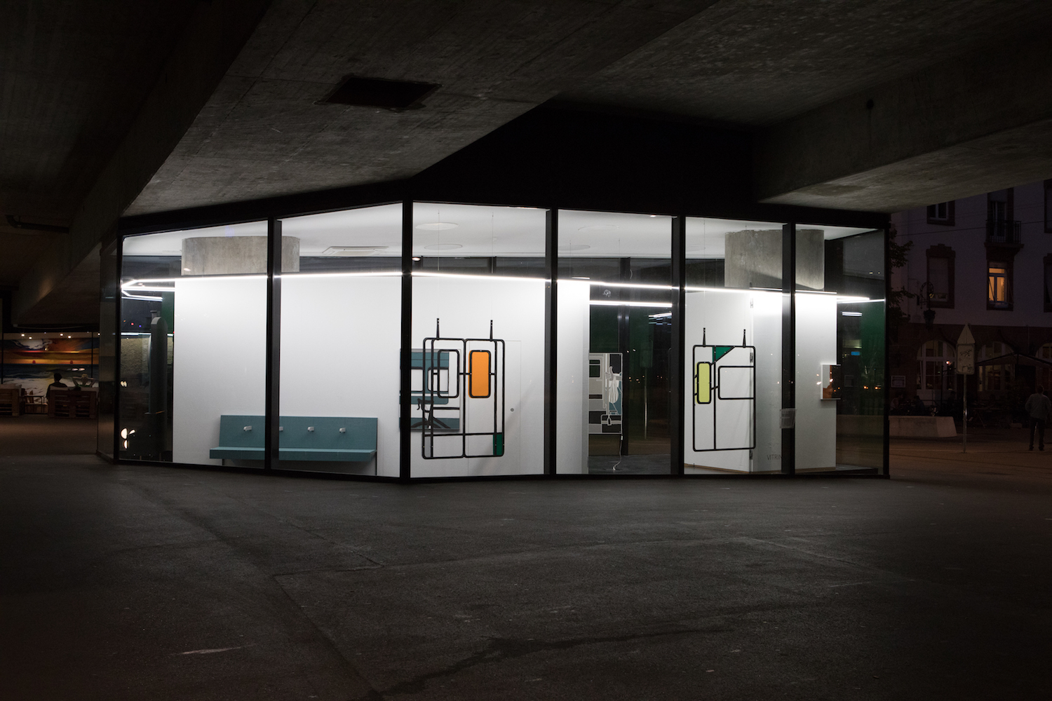 Milly Peck, A Matter of Routine, 2020. Installation view. VITRINE, Basel.