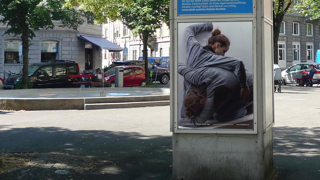 Nicole Bachmann, On Sight / Site, 2020. Installation view. Public art project across Switzerland.