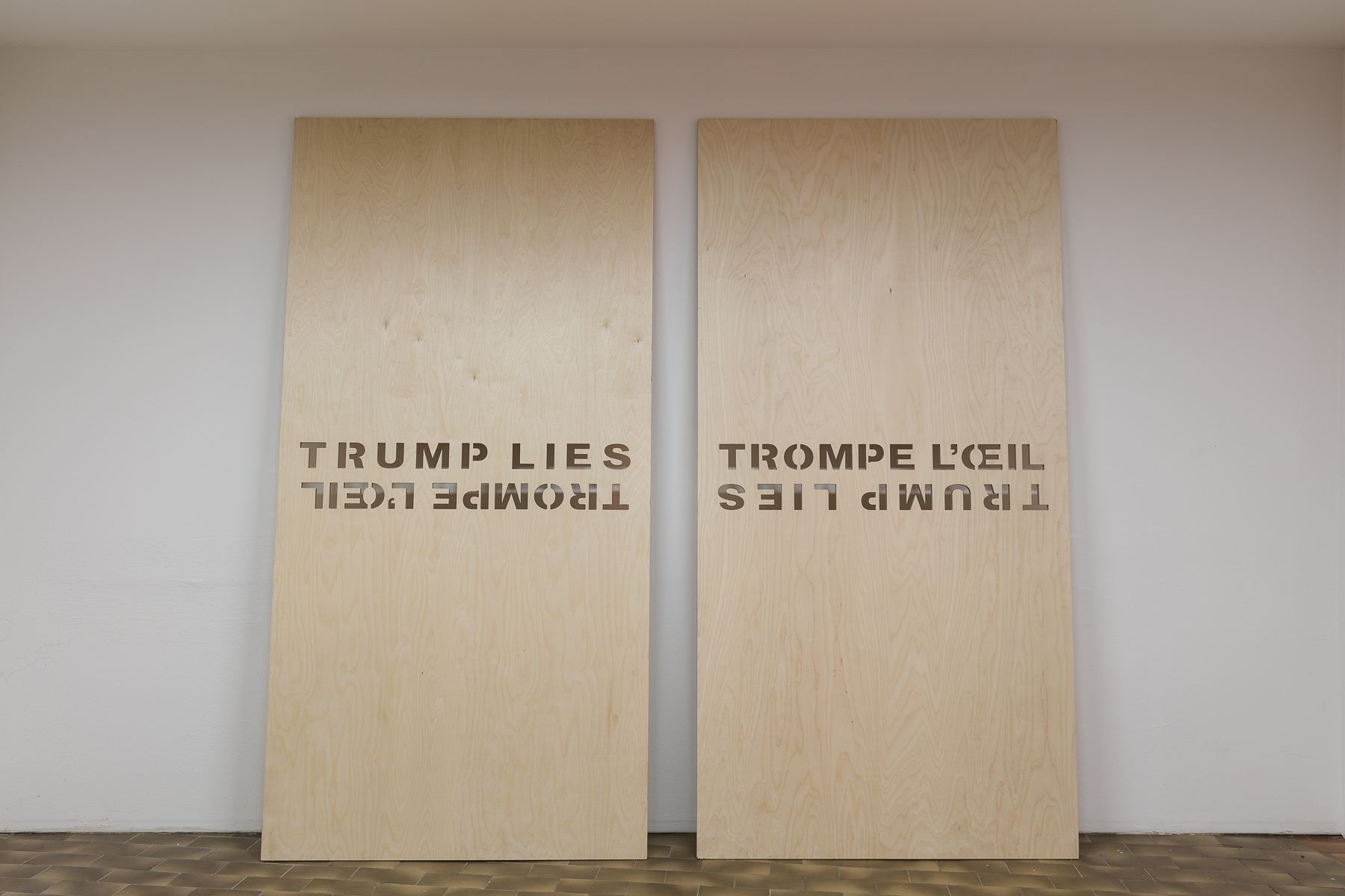 Tim Etchells at Museum Kunstpalast, Düsseldorf, DE
