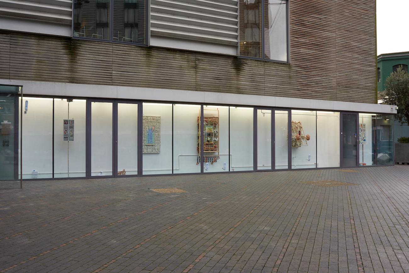 Kara Chin, You Will Knead, 2021. Installation view. VITRINE, London. Photographer: Jonathan Bassett.