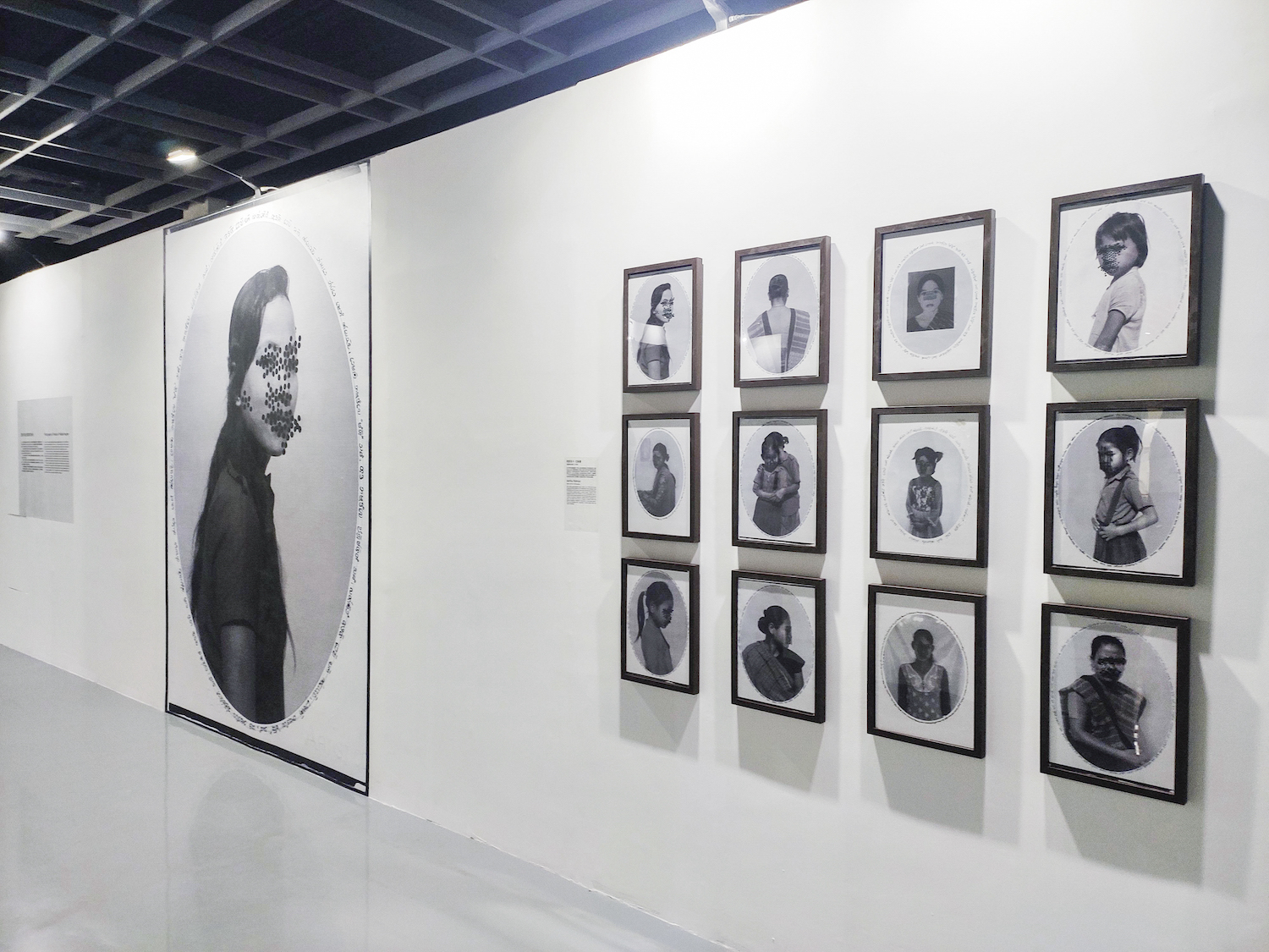 Ashfika Rahman, Rape is Political, 2019. Installation view. Jimei x Arles international photo festival, CN. Photographer: The Alkazi Foundation.