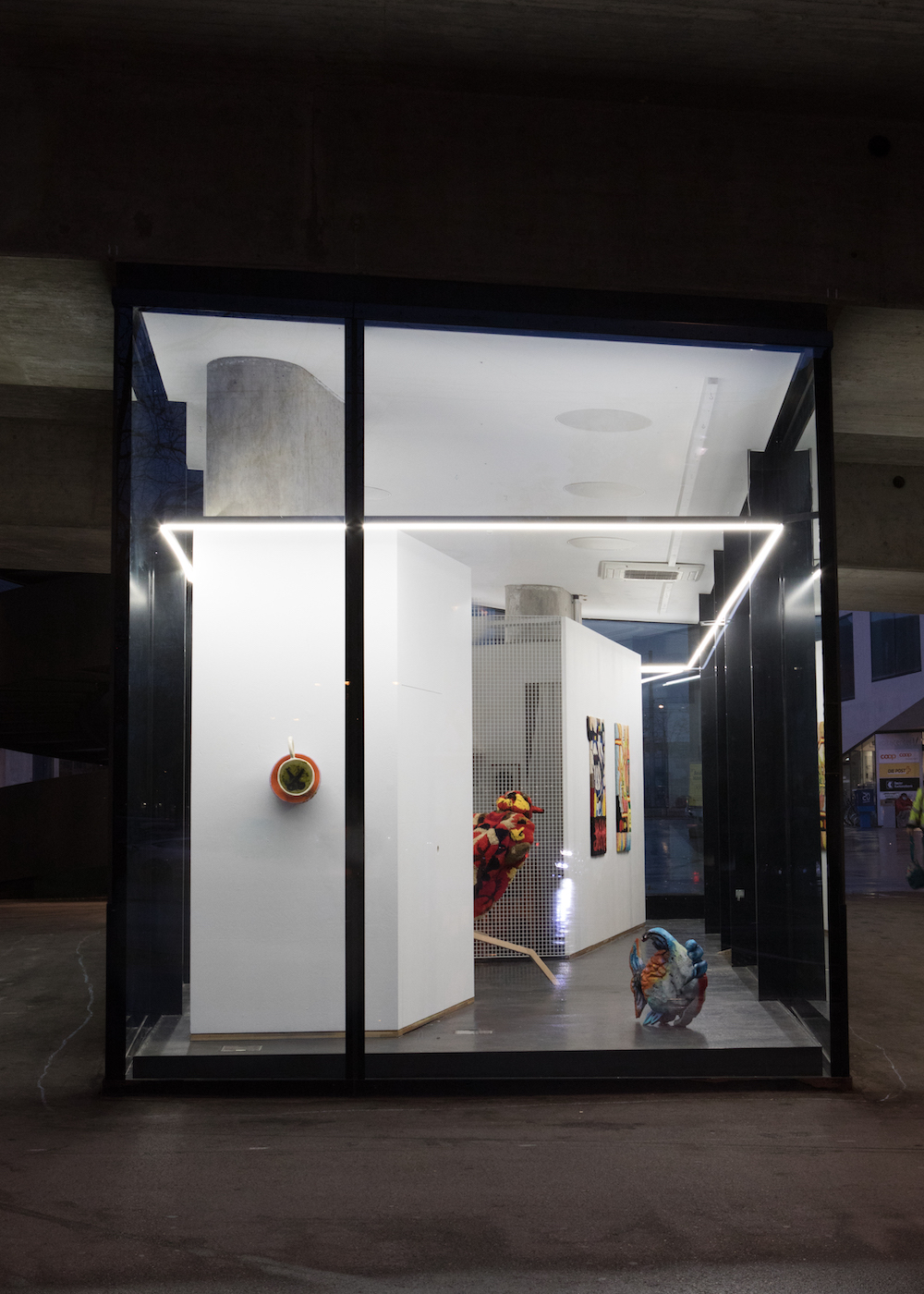 The Sun and the Moon, Installation view, 2021. VITRINE, Basel.