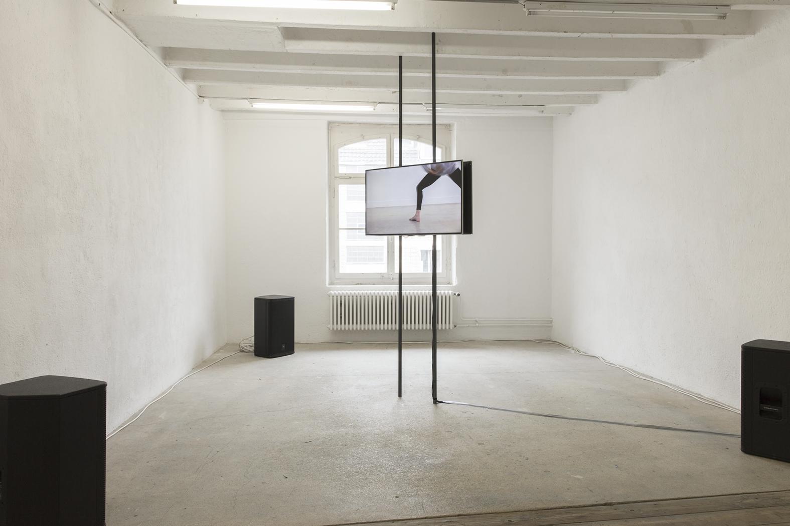 Nicole Bachmann, I Say, 2017. Installation view. Binz39, Zurich, CH.