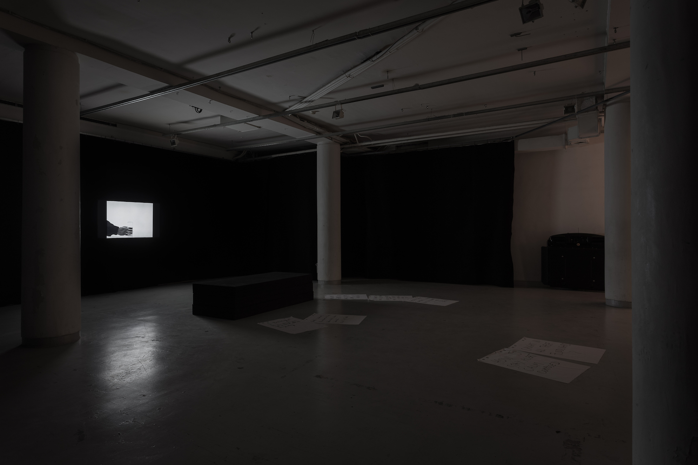 Tarek Lakhrissi, Hard to Love, 2018. Installation view. Baltic Triennal 13, Kim? Contemporary Art Centre, Riga, LV.