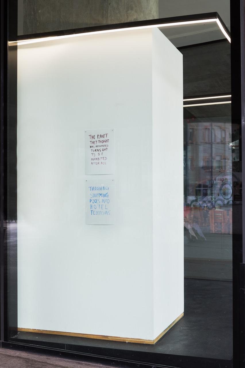 Along A Long So Long, installation view, 2021. VITRINE, Basel.
