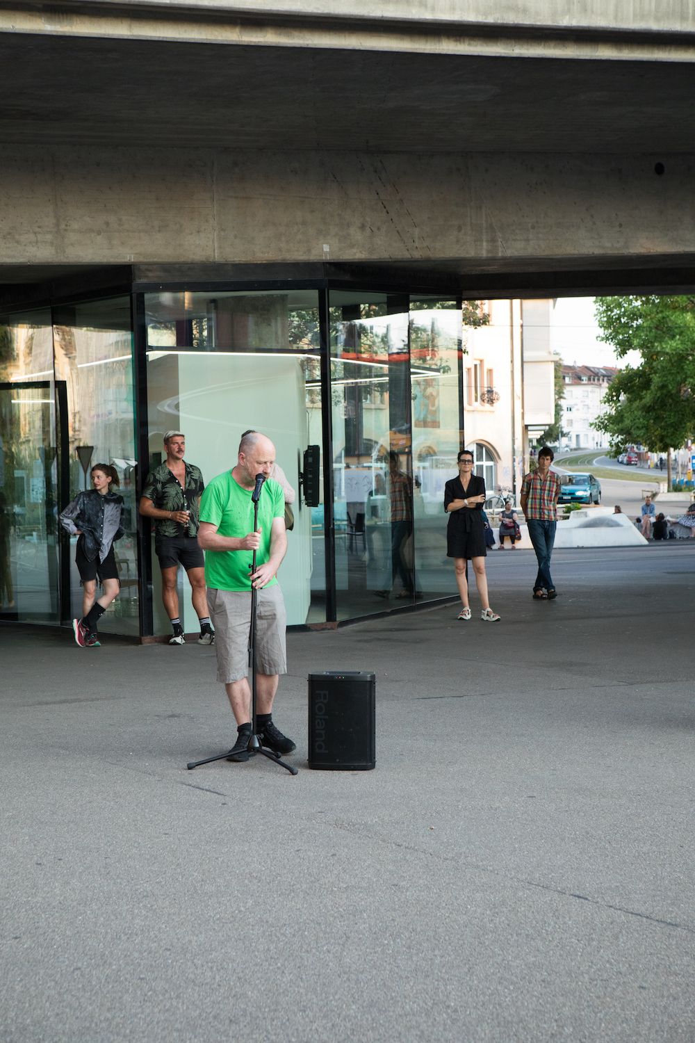 Tim Etchells, Now That I Am Here I Am Ready To Leave, 2021. Performance. Duration variable. Unique (+1AP).