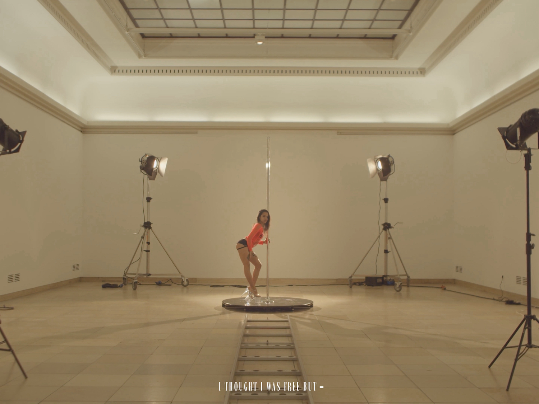 Tarek Lakhrissi, Spiraling (film still), 2021. HD Single channel video. 00:07:00. Edition of 5 (+1AP).