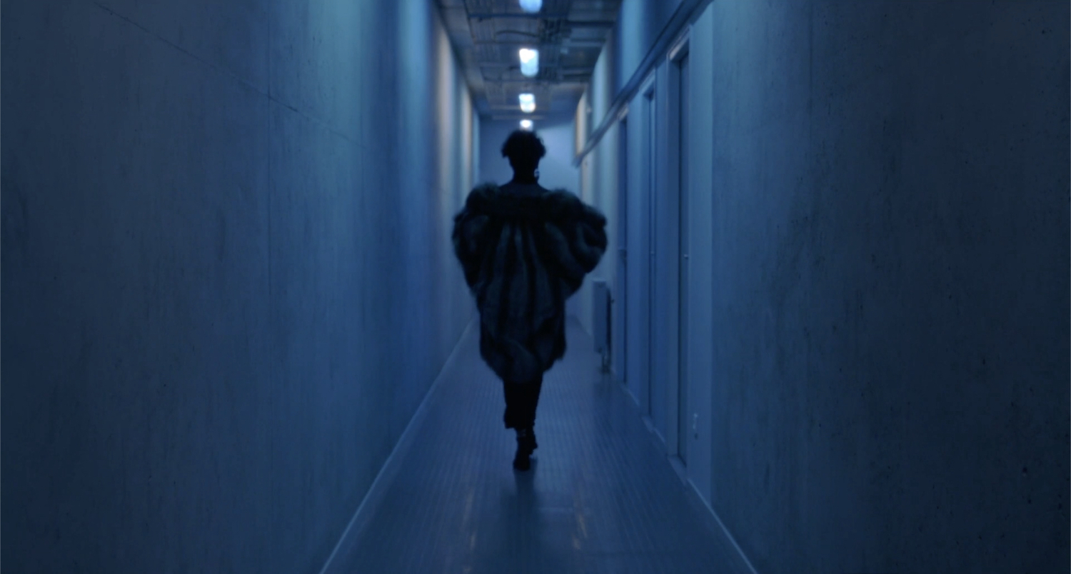 Tarek Lakhrissi, Out of the Blue (film still), 2019. Single channel video. 00:13:01. Edition of 5 (+1AP).
