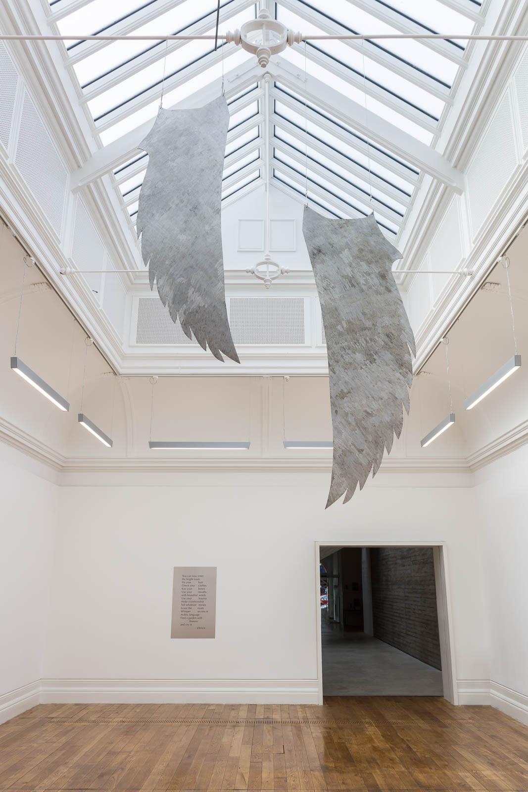 Tarek Lakhrissi, My Immortal, 2021. Installation view. MOSTYN, Llandudno, UK. Photographer: Mark Blower.