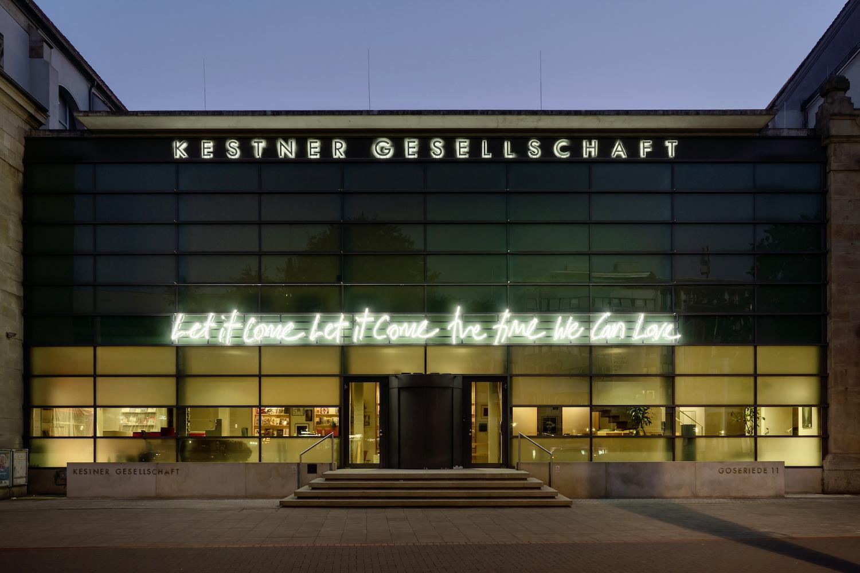 Tim Etchells at Kestner Gesellschaft, Hanover, DE