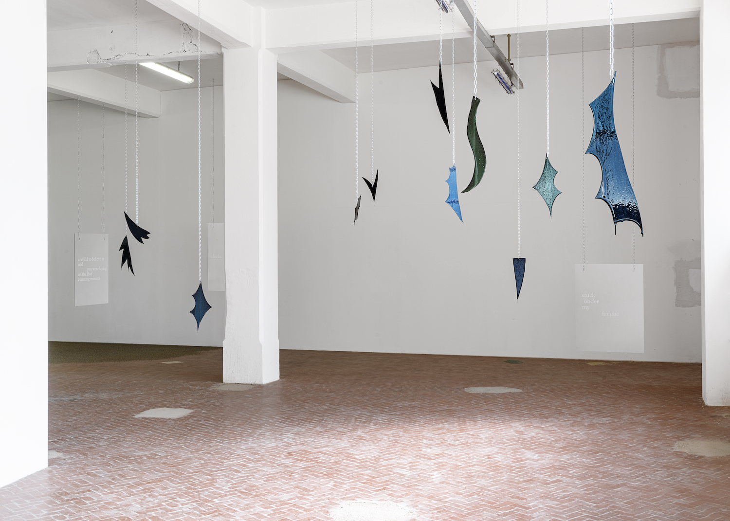Tarek Lakhrissi, Ordered, Horny and Horned, 2021. Installation view. VEDA, Florence, IT. Photographer: Flavio Pescatori.