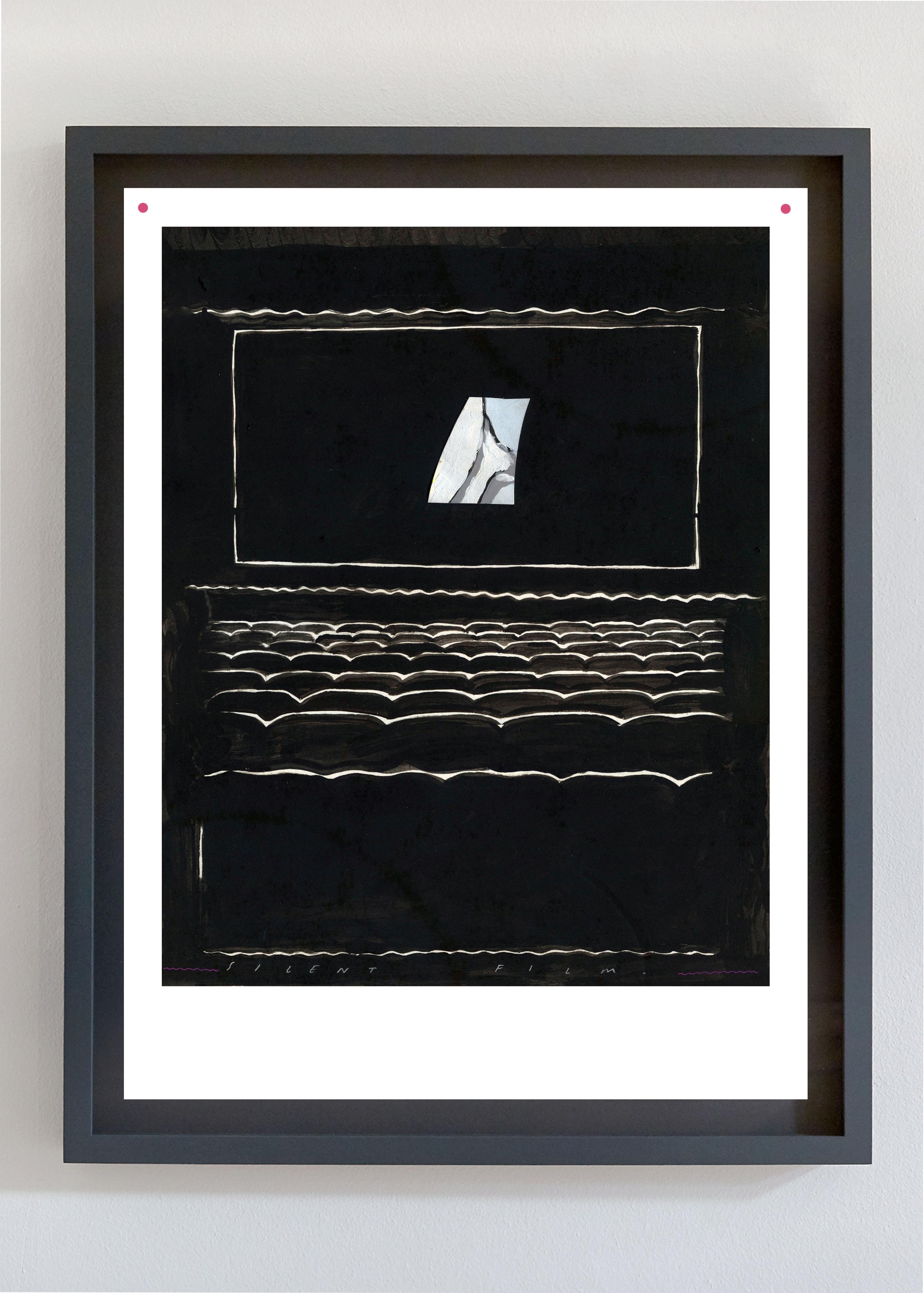 Charlie Godet Thomas, Silent Film, 2019. Gicleé print on Hahnemühle Photo Rag. Framed. 48 x 36 cm. Edition of 30 (+ 3 AP).