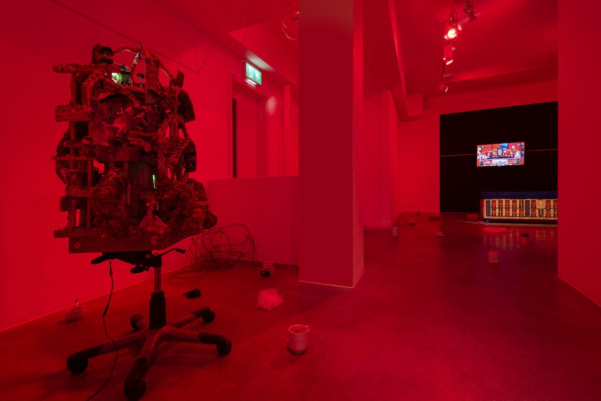 Kara Chin, Fountain of Youth, 2021. Installation view. Huxley Parlour, London, UK.
