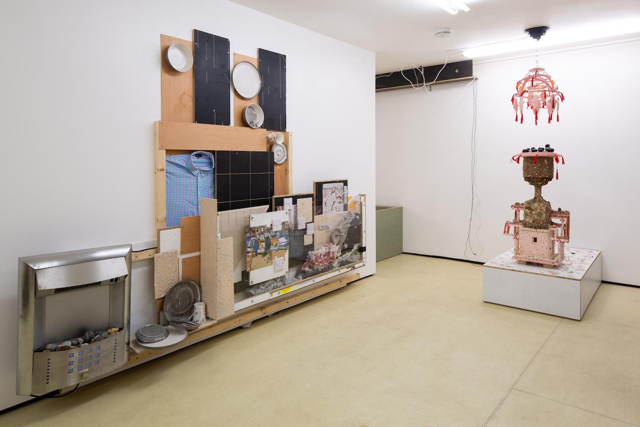 Kara Chin, Remedial Works, 2021. Installation view. Quench, Margate, UK. Photographer: Ollie Harrop.