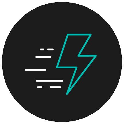 efficient icon