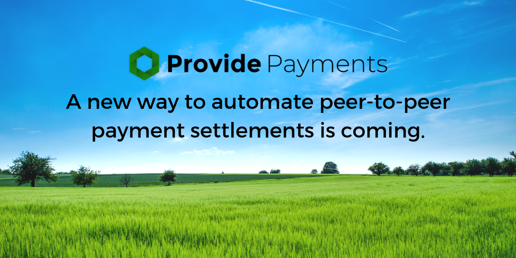 Provide Payments coming soon