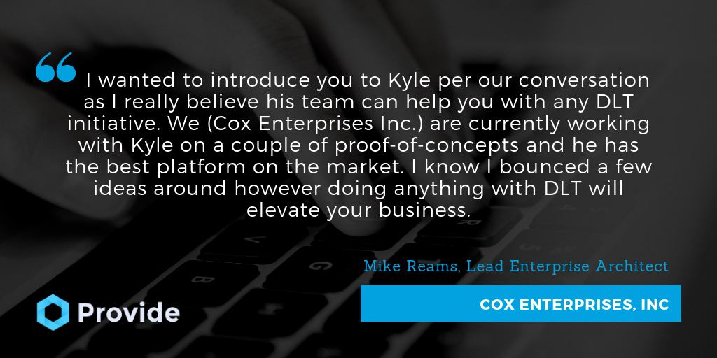Cox on Provide Platform