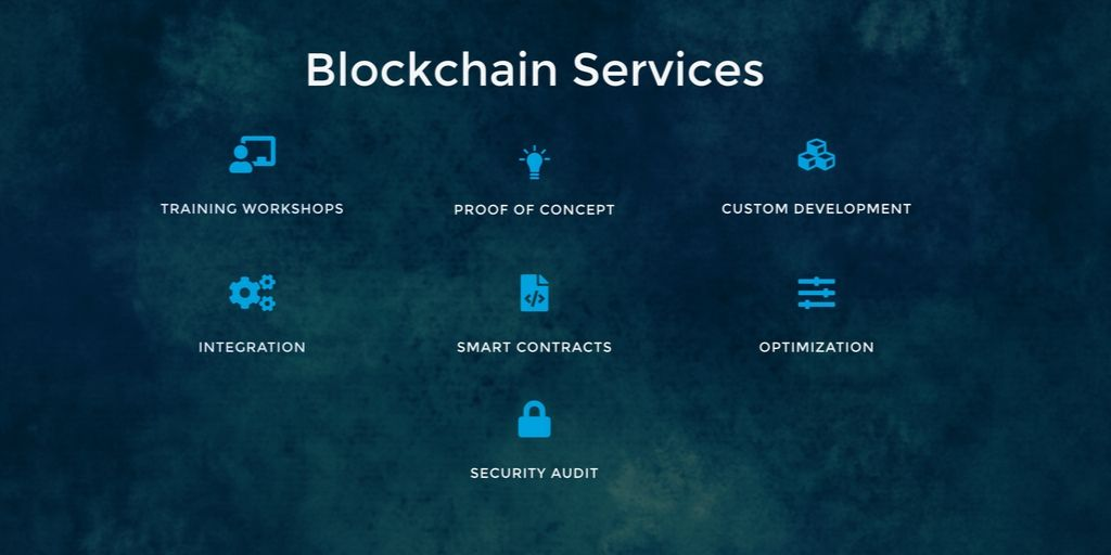 Blockchain services security audit smart contracts