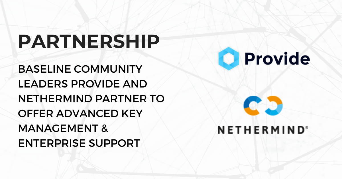 Provide Partners with Nethermind to Offer Advanced Key Management & Enterprise Support