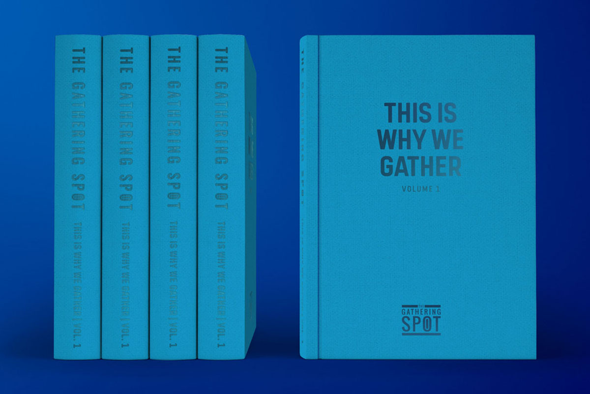 This Is Why We Gather Blue Book by Tantrum Agency