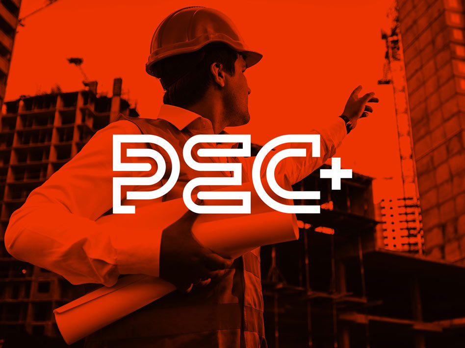 PEC+ Red Cover Logo