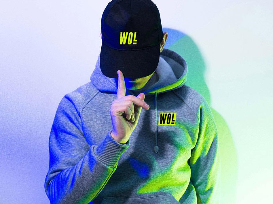 WOL Hoodie by Tantrum Agency
