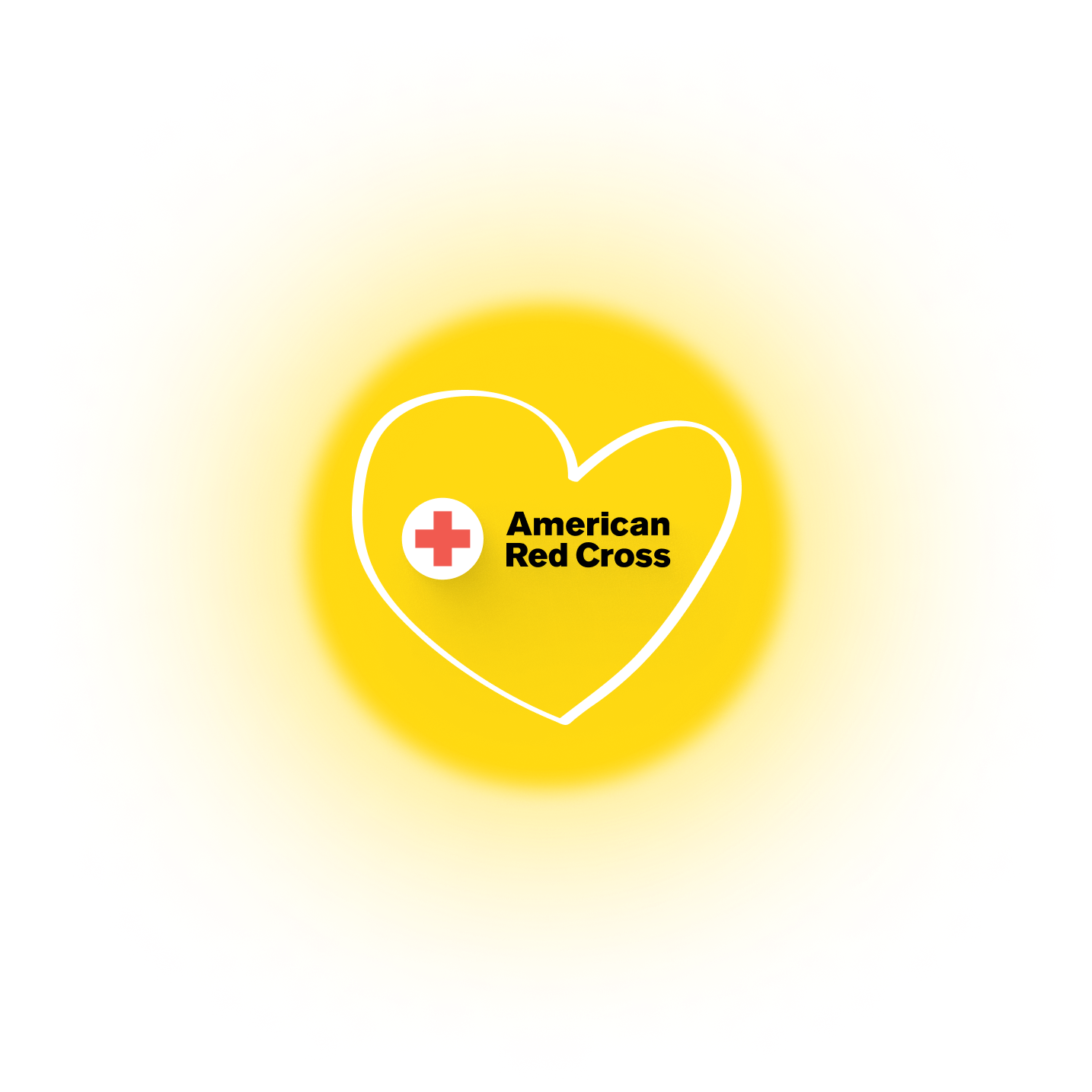Heart and charity logo