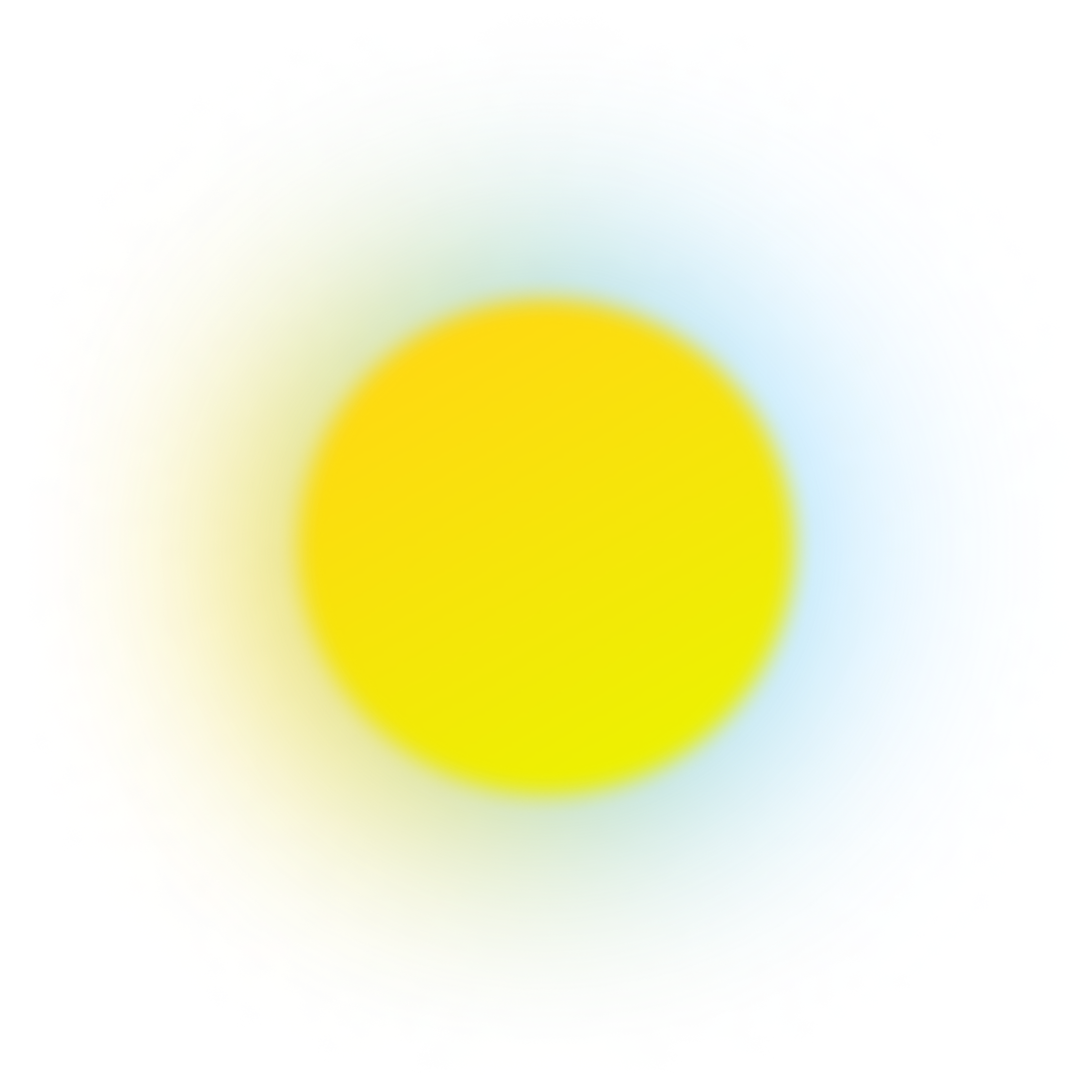 warm blurry dot