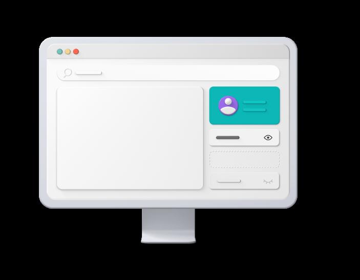 3D Image iMac