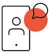 Un icon représentant le vidéo-coaching