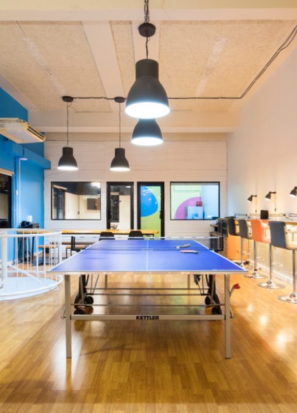 Ping pong doesn't guarantee a healthy workplace