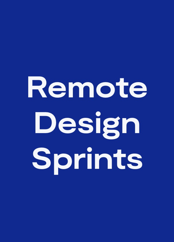 How to turn Design Sprints into remote workshops?