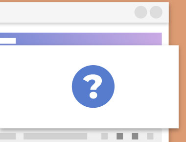 Generic Portal with Question mark in modal window.