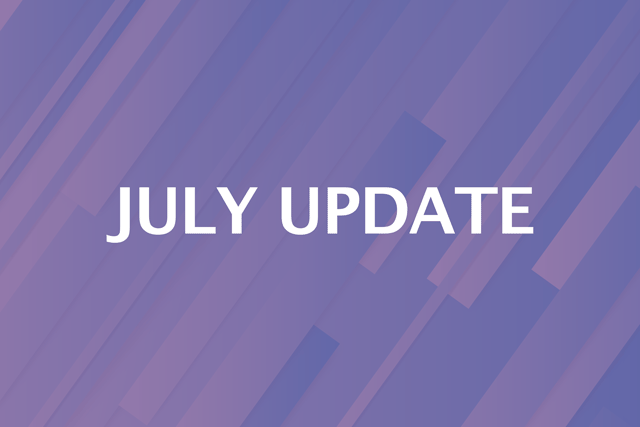 July Update - New Features!