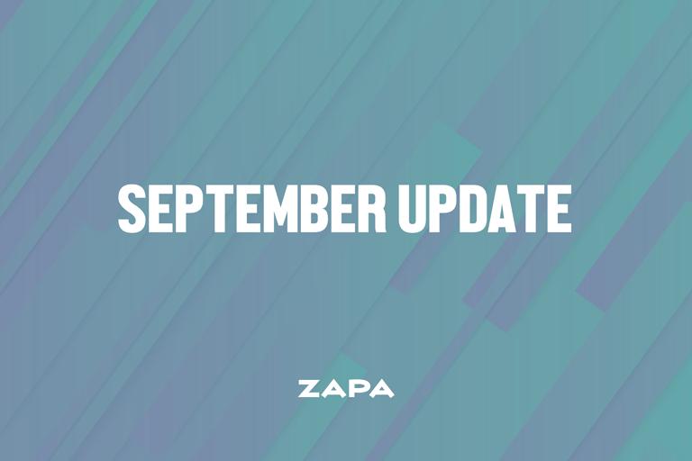 September Update - Portal Improvements!