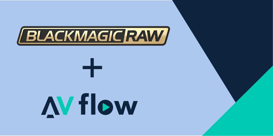 BRAW + AVflow.io