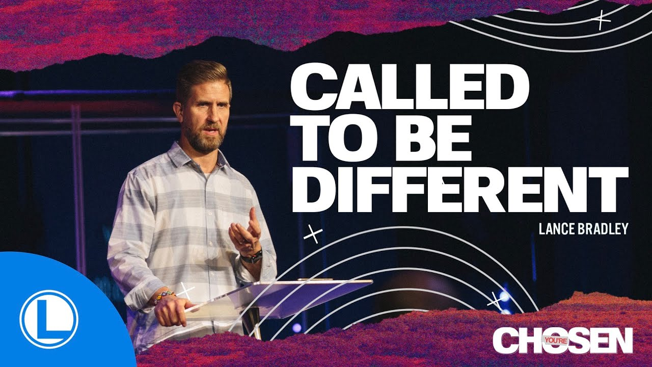 Called To Be Different, Chosen, Week 3