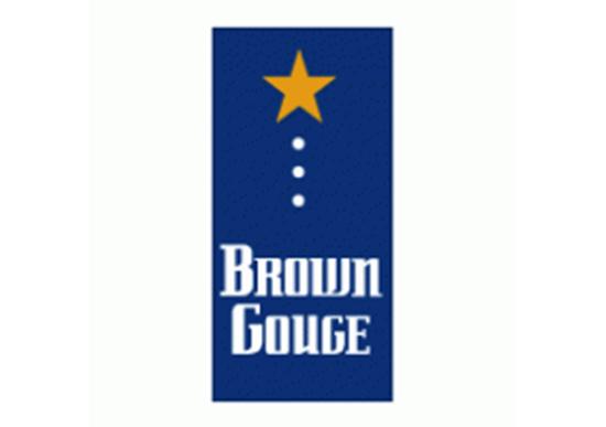 Brown Gouge