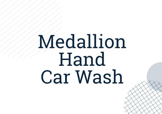Medallion Hand Car Wash