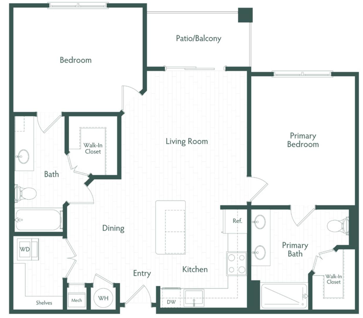 Virtual Tour Floor Plan Image B1