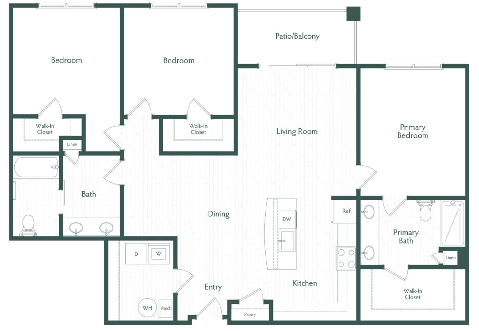 Virtual Tour Floor Plan Image C1
