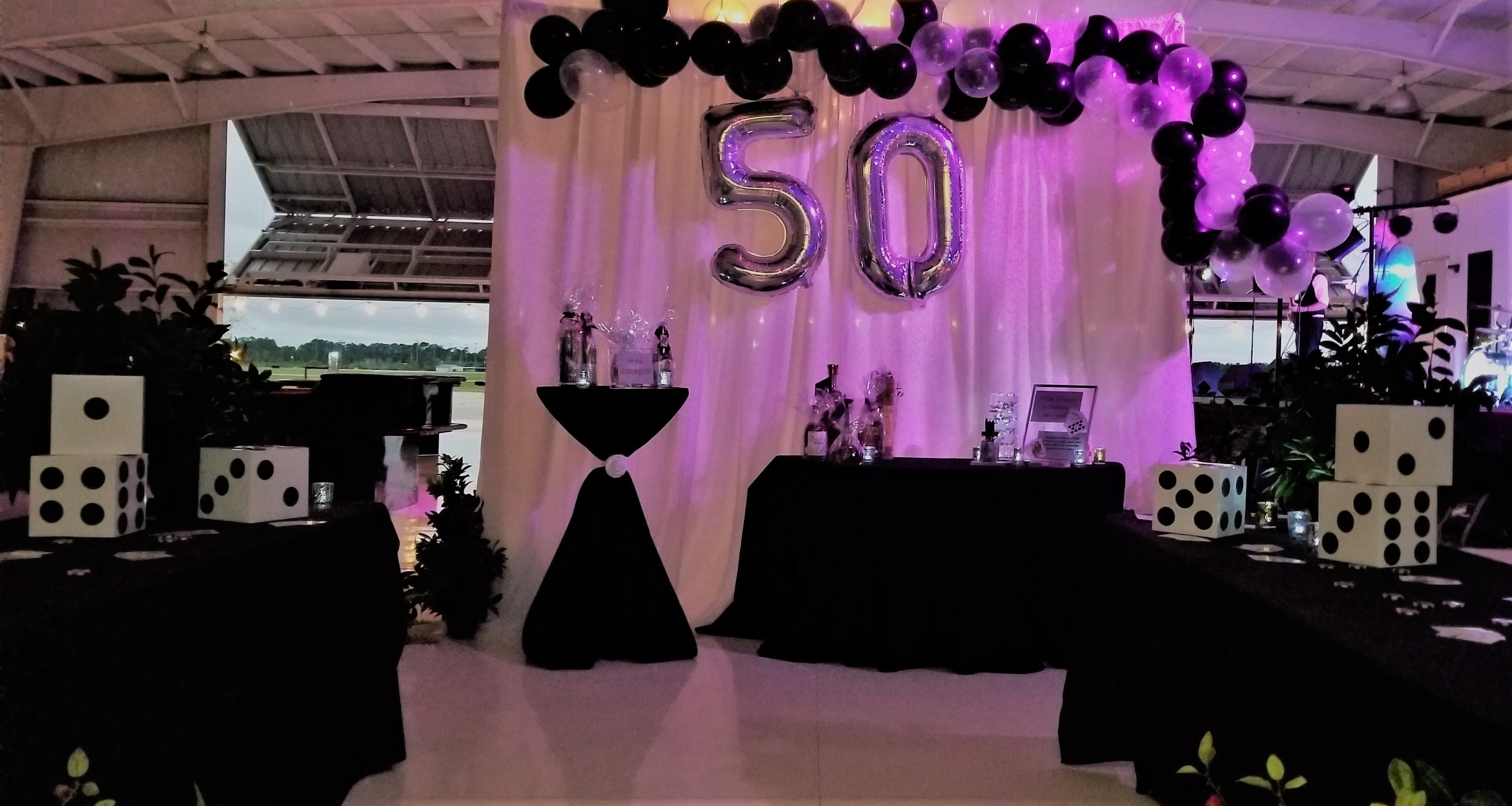 50th decor