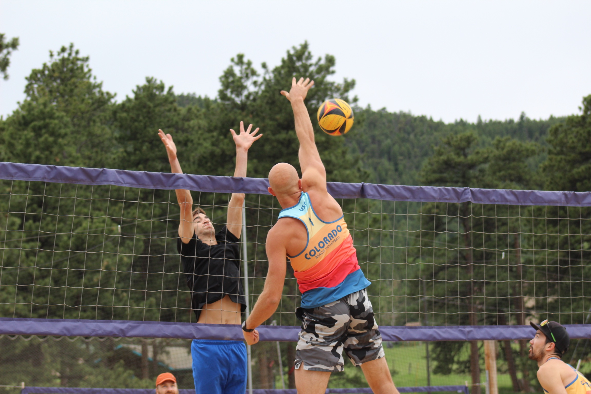 flourish volleyball sports t-shirt
