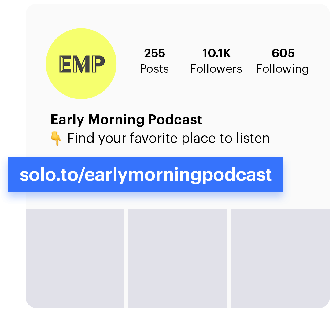 solo.to best podcast bio link